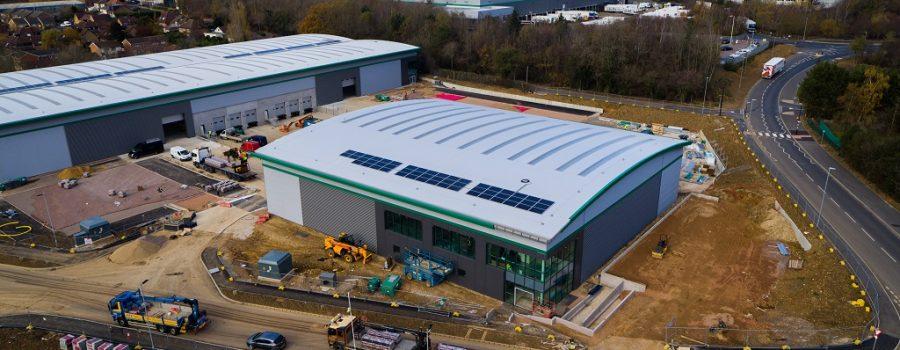 Riwal UK new London North depot Prologis Hemel Hempstead