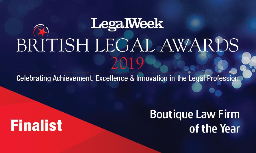 British Legal Awards 2019