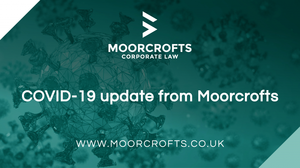 COVID-19 update from Moorcrofts