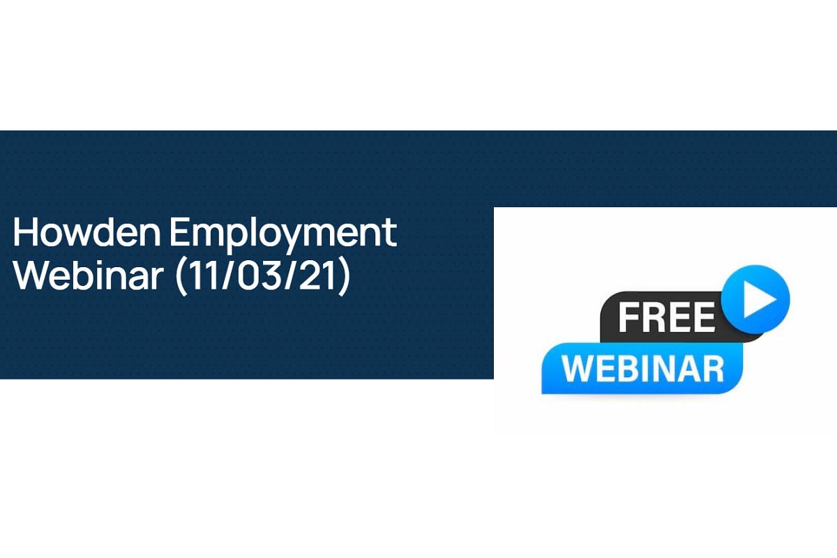Howden Employment Webinar