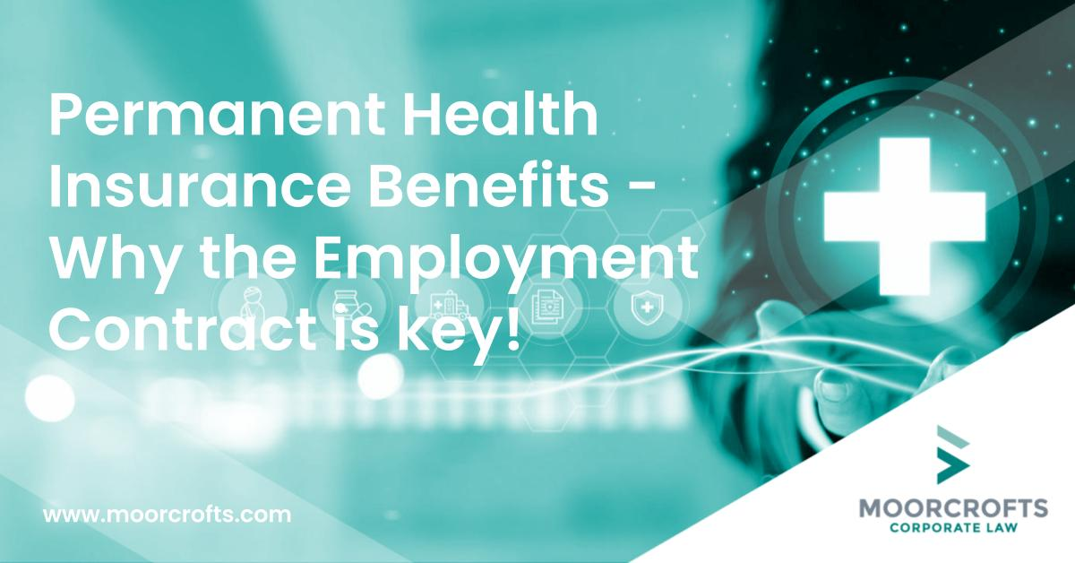 Permanent Health Insurance Benefits