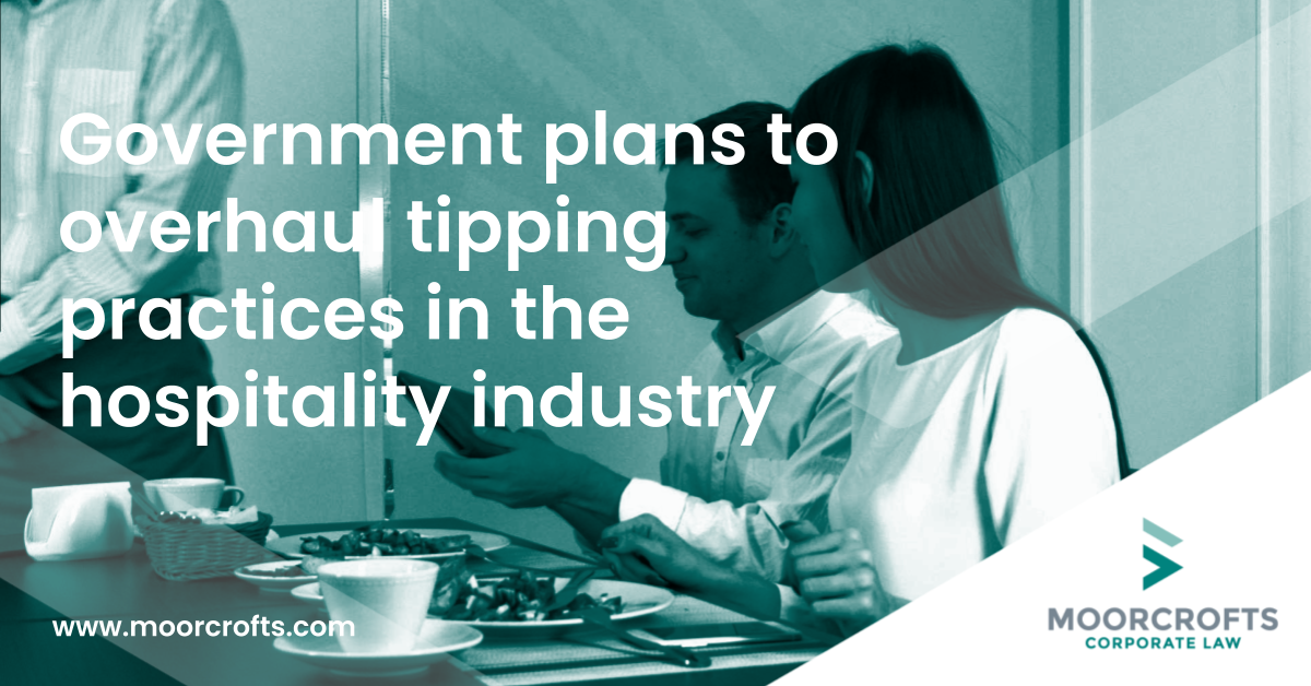 Government plans to overhaul tipping practices in the hospitality industry